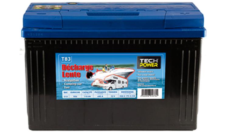 batteries Décharge-lente