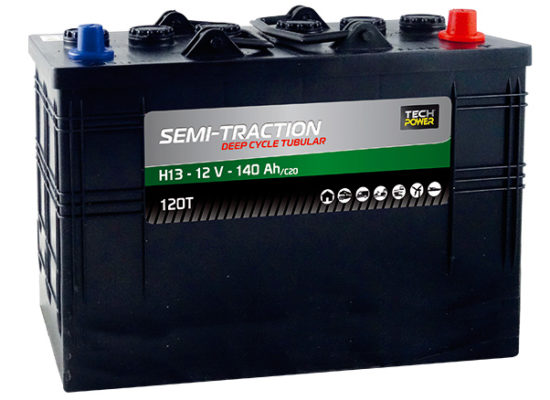 batteries semi-traction Tubulaire