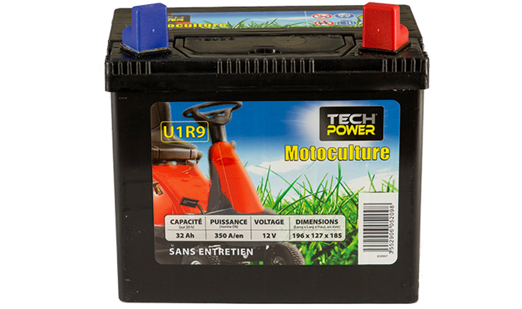 batteries motoculture