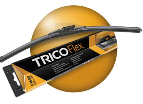 Trico Flex balais d'essuie-glace plats avant