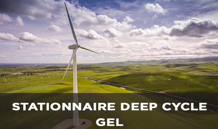 STATIONNAIRE DEEP CYCLE GEL