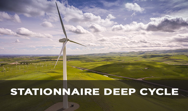 STATIONNAIRE DEEP CYCLE