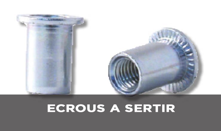 ECROUS A SERTIR