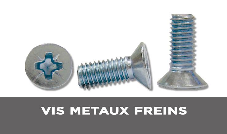 VIS METAUX FREINS