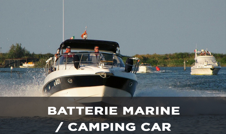BATTERIE MARINE / CAMPING CAR