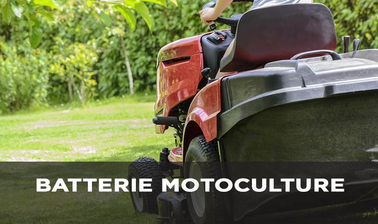 BATTERIE MOTOCULTURE