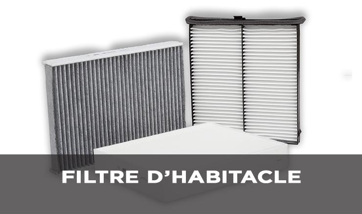 FILTRE D'HABITACLE