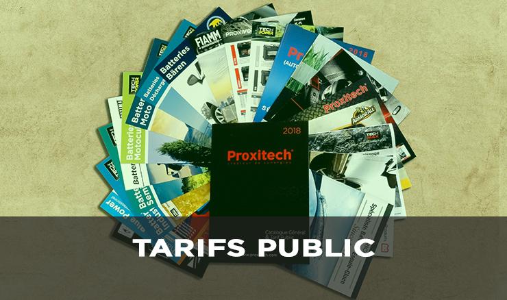 TARIFS PUBLIC