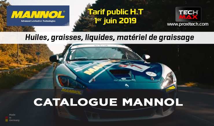 CATALOGUE MANNOL 2019