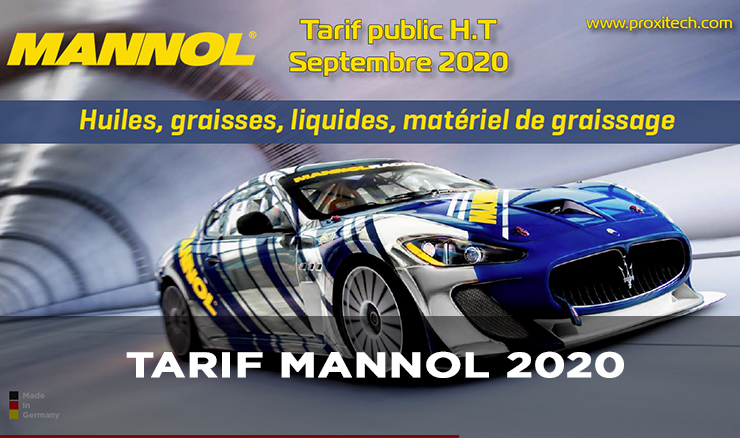 CATALOGUE MANNOL 2020